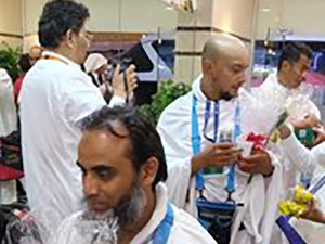 Reception of Hujjajs in Makkah